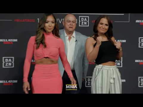 Bellator 222 Media Day Staredowns - MMA Fighting