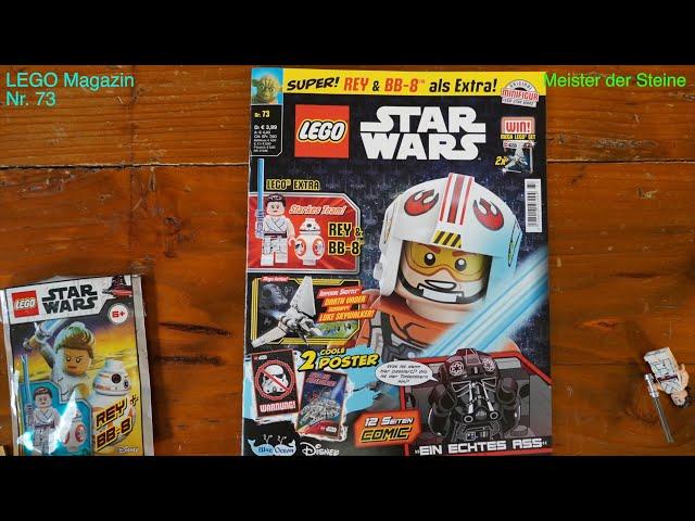 LEGO, STAR WARS, Magazin, Juni 2021, Nr.73, Meister der Steine