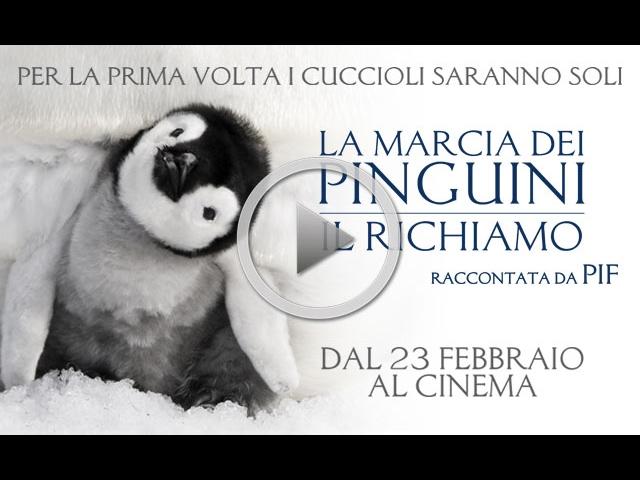 LA MARCIA DEI PINGUINI IL RICHIAMO - Dal 23 febbraio al cinema