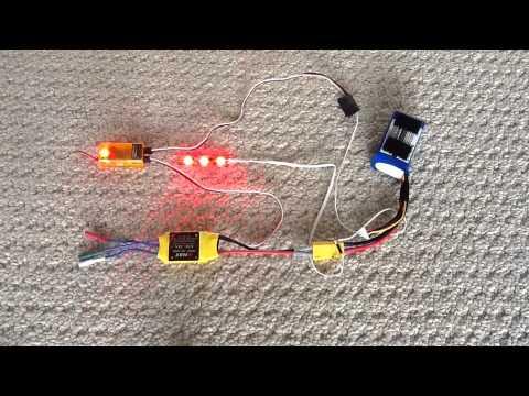 Multi Mode 12v Led Strip Controller For Rc  Youtube