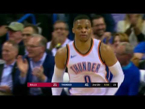 Chicago Bulls vs. Oklahoma City Thunder - November 15, 2017