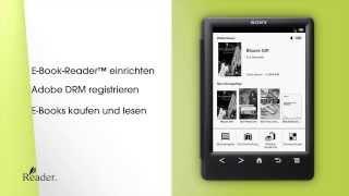 So funktioniert der Sony Reader PRS-T3 und PRS-T3S (short cut)