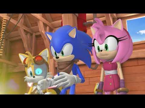 Соник Бум - 2 сезон 44 серия - Одно целое   Sonic Boom - мультик для детей