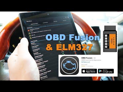 OBD Fusion App & ELM327 Diagnostic Device