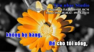 KARAOKE Đời Tôi Là Của Tôi Nguyễn Hưng