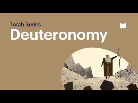 The Book of Deuteronomy | Bible Study