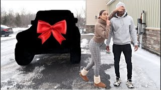 SURPRISING MY FUTURE HUSBAND WITH HIS DREAM CAR!