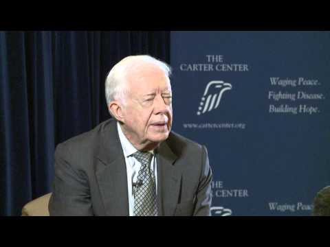 Jimmy Carter - Ex US President Interview by RMR