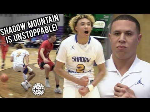 #1 TEAM Shadow Mountain DANCES AND DESTROYS STATE CHAMP BY 30! Jaelen House DROPS 30! MIKE BIBBY