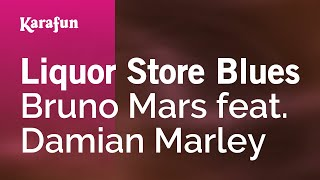 Karaoke Liquor Store Blues - Bruno Mars *