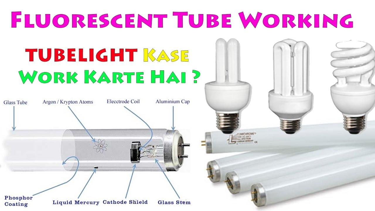 Explained Fluorescent Tube  Lamp Working