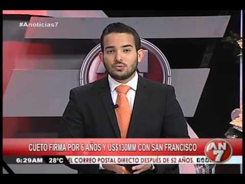 Cueto firma por 6 años y US$130 MM con San Francisco