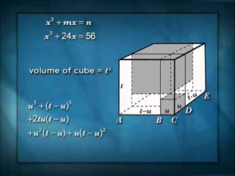 Cubics Equations Part 1 - solving Cubic Equations - YouTube