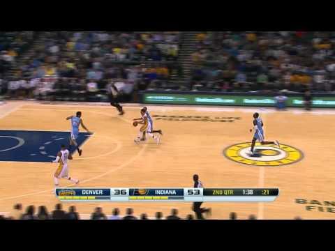 Denver Nuggets vs Indiana Pacers | February 10, 2014 | NBA 2013-14 Season