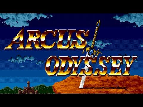 Arcus Odyssey (Sega Genesis) Full Walkthrough Action-RPG