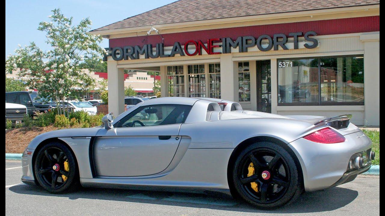 2005 Porsche Carrera Gt For Sale Formula One Imports Charlotte