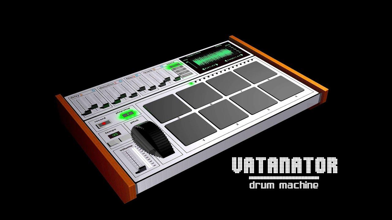 vatanator drum machine demo for the ipad youtube. Black Bedroom Furniture Sets. Home Design Ideas