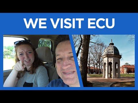 Hope and Woody Visit ECU #72 - East Carolina University