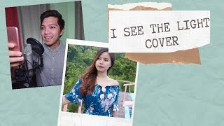I SEE THE LIGHT DUET (Tangled Movie) - Cover by Apple Crisol and Clark Mantilla