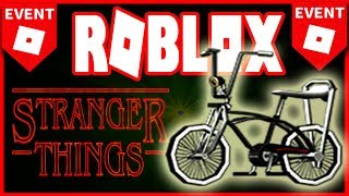 *NEW* possible ROBLOX EVENT 2019: FREE bike!? (NETFLIX:Stranger Things)