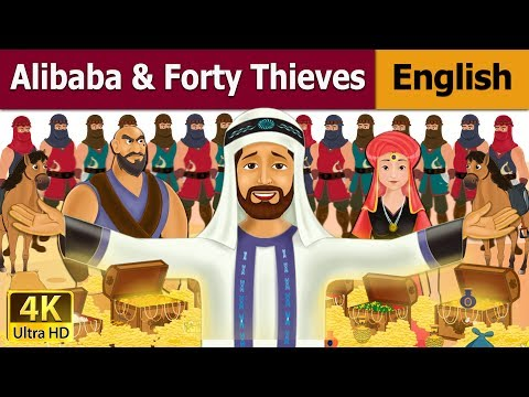 Alibaba And 40 Thieves in English |...