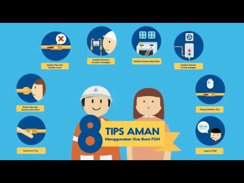 8 Tips Aman Menggunakan Gas Bumi PGN