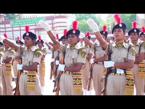 Indo-Tibetan Border Police (ITBP) 249 Mahila constables passingout Paradefrom BTC, ITBP Bhanu