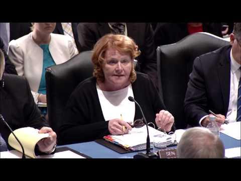 Senate Committee Passes Heitkamp