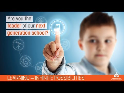 Are you the leader of our next generation school?
