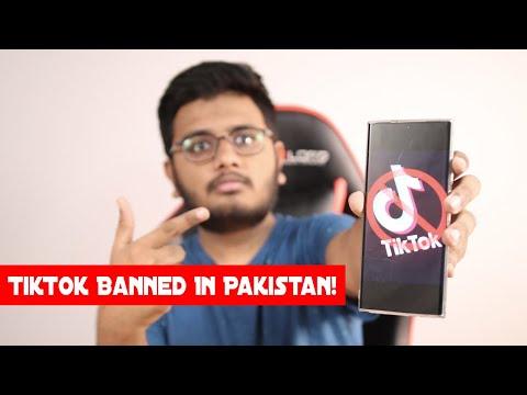 Tiktok Banned In Pakistan.
