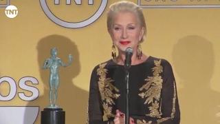 Helen Mirren   Press Room   SAG Awards