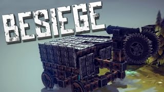 THE CUBE OF DEATH - Besiege Alpha