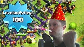 [facecam] LEVEL 100! || CLASH OF CLANS || Let's Play CoC [Deutsch/German HD]