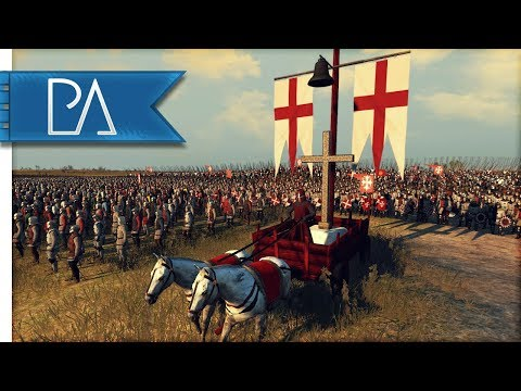FIGHT! FOR THE STANDARD! 100th BATTLE - Medieval Kingdoms Total War 1212AD Mod Gameplay