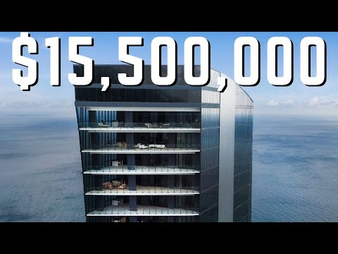 A MANSION in the SKY | The $15.5 MILLION Penthouse at MUSE Miami Beach