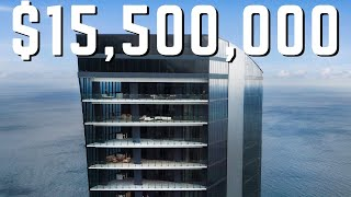 A MANSION in the SKY | The $18.5 MILLION Penthouse at MUSE Miami Beach