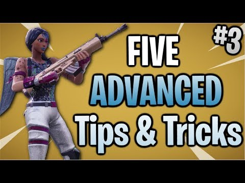 Fortnite: 5 ADVANCED Tips & Tricks #3 | Season 7!