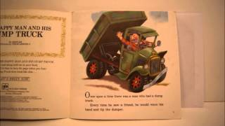 The Happy Man and His Dump Truck- Little Golden Book and Record