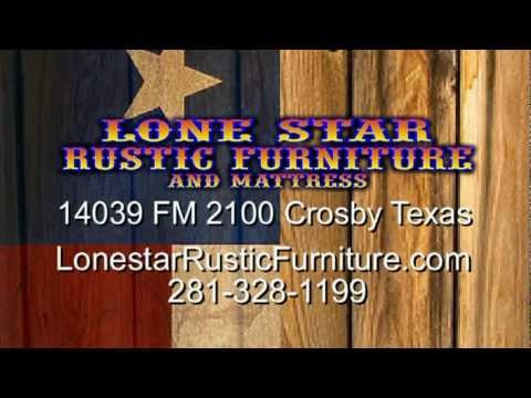 Lonestar Rustic Furniture Crosby 30 Sec. Commercial