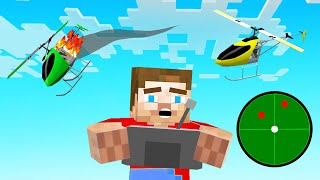 CONTROLLING UAVs In MINECRAFT! (awesome)