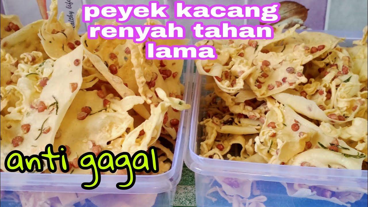 Download ANTI GAGAL~ CARA MEMBUAT PEYEK KACANG RENYAH DAN TAHAN LAMA, GARING TIDAK BERMINYAK