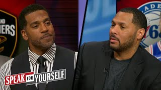 Jim Jackson on the 2018 Playoffs: 'The East is more intriguing' than the West | SPEAK FOR YOURSELF
