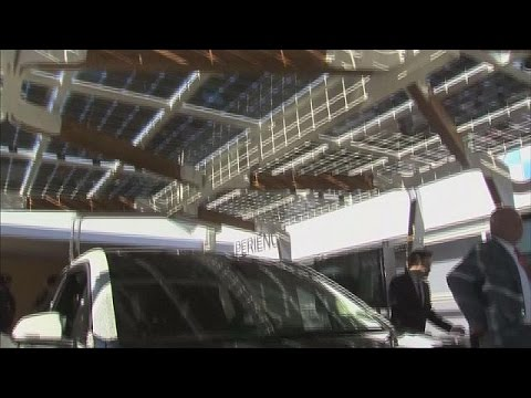 Solar carport: using sunlight to make electric cars cheaper to run