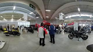 Stand BMW Moto à La moto fait son show