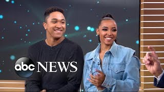 "Tinashe and Brandon Armstrong speak out on ""GMA"" about their surpri..."