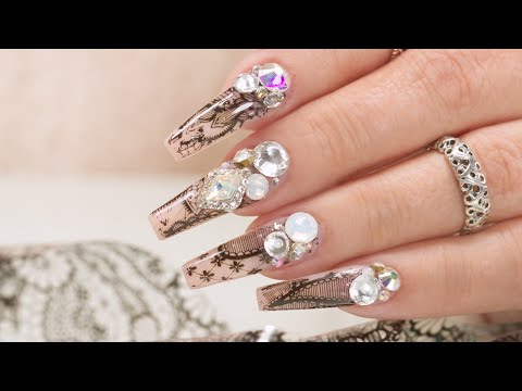 See Through Transfer Foils And Bling! How To With Max Estrada