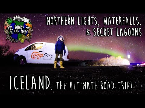 ICELAND - The ultimate road trip!? - Diary of a van man 50