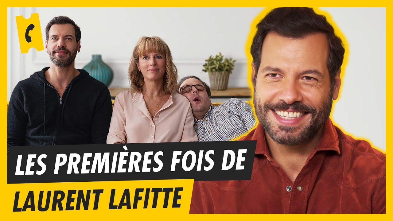 Premier tournage ? Première réalisation ? - Laurent Lafitte nous raconte ses premières fois.