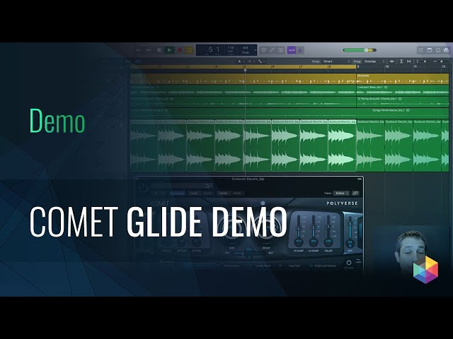 Comet Morphing Reverb: Glide Demo