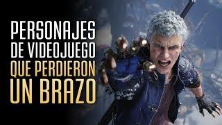 Personajes de videojuego que perdieron UN BRAZO!